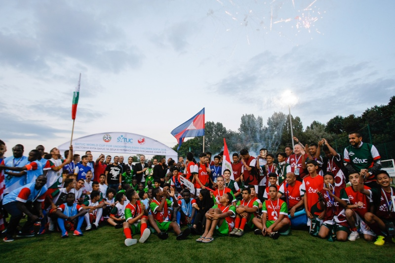 Bulgaria won the bronze medals at the 2018 SATUC Cup