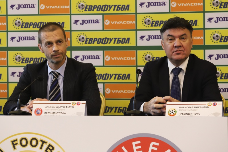 The BFU officially declares its support for the re-election of Aleksander Ceferin as UEFA president