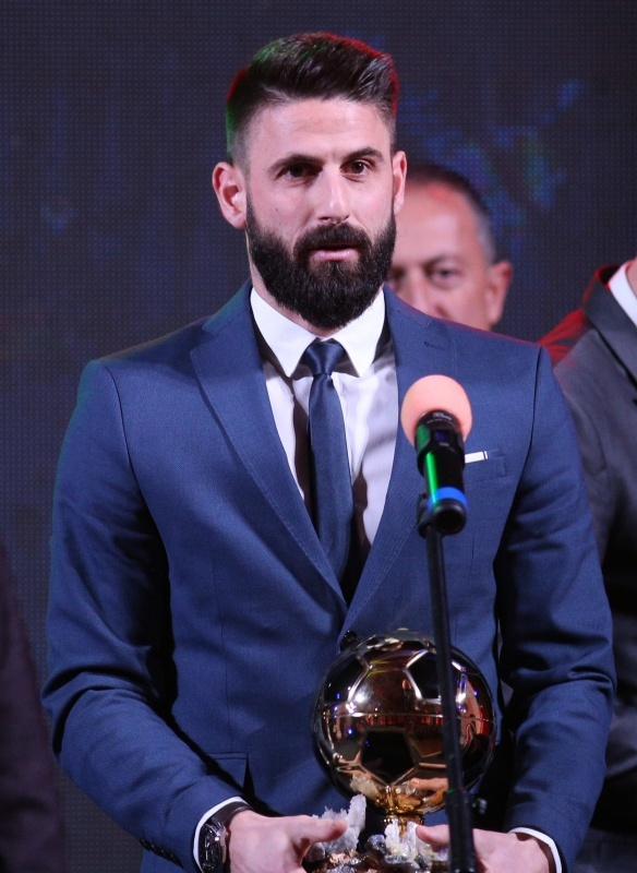 Dimitar Iliev was voted Bulgarian Footballer of the Year