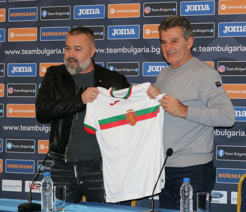 Yasen Petrov is the new Bulgaria head coach